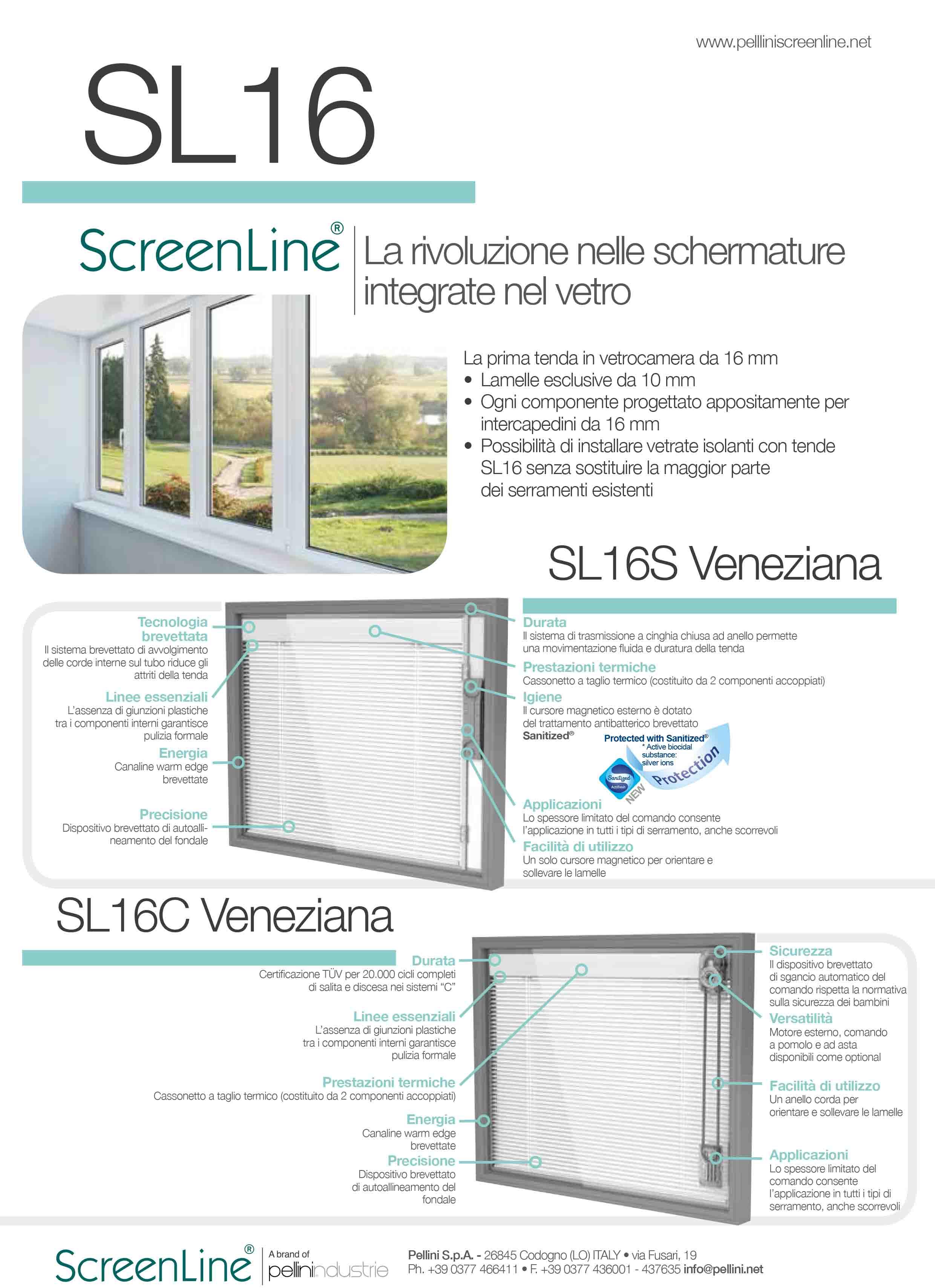 Finestre Con Veneziane Incorporate Prezzi predari vetri - tenda veneziana per vetrocamera da 16mm